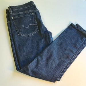 Seven for all mankind Roxanne skinny jeans size 29